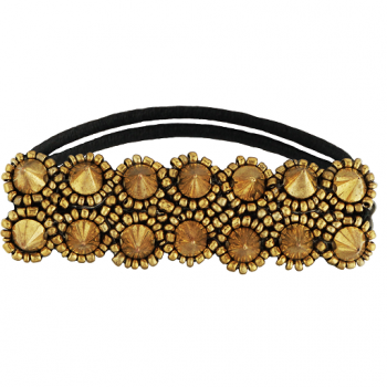 Melrose Hair Tie Gold