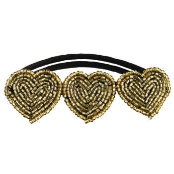 Paddington Hair Tie Gold